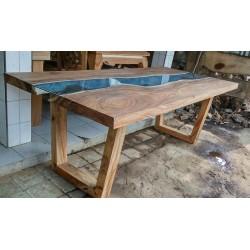 Meble ogrodowe teakowe - Główna z teku - Stół na zamówienie