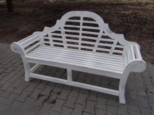 Ławka Marlborough 150 cm limited edition bielona