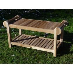 Meble ogrodowe teakowe - Główna z teku - Stolik Marlborough 100 X 50 X 45 cm