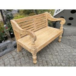 Meble ogrodowe teakowe - Główna z teku - Ławka Bali 120 cm