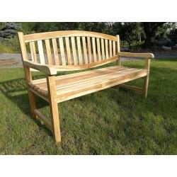 Meble ogrodowe teakowe - Ławki z teku - Ławka Oval 150 cm