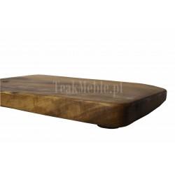 Meble ogrodowe teakowe - Główna z teku - Deska do krojenia Root 40 x 28 x 4,5 cm