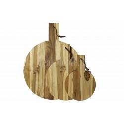 Meble ogrodowe teakowe - Główna z teku - Deska do krojenia Long 84 cm x 28 cm