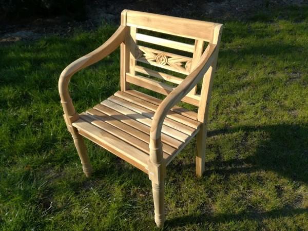 Krzesło Lawenda białe