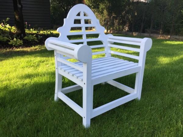 Krzesło Marlborough/Lutyens białe
