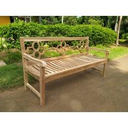 Meble ogrodowe teakowe - ławki z teku - Ławka Westminster 180 cm