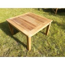 Meble ogrodowe teakowe - stoły z teku - Stolik Kolorado 80 cm