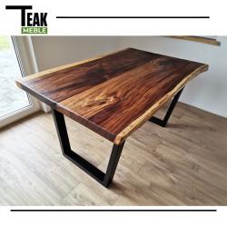 Meble ogrodowe teakowe - Główna z teku - Stół Natural 180x95x78 cm