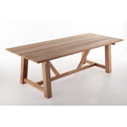 Meble ogrodowe teakowe - Stoły z teku - Stół Rustic 240 cm NEW DESIGN