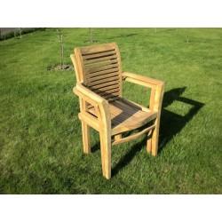 Meble ogrodowe teakowe - Krzesła z teku - Krzesło Royal