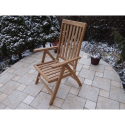 Meble ogrodowe teakowe - Krzesła z teku - Krzesło Ohio