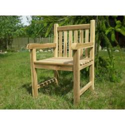 Meble ogrodowe teakowe - Krzesła z teku - Krzesło Java B