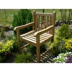Meble ogrodowe teakowe - Krzesła z teku - Krzesło Java A