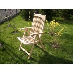 Meble ogrodowe teakowe - Krzesła z teku - Krzesło Classic
