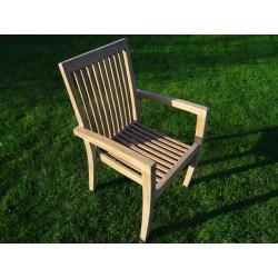 Meble ogrodowe teakowe - Krzesła z teku - Krzesło Celebes