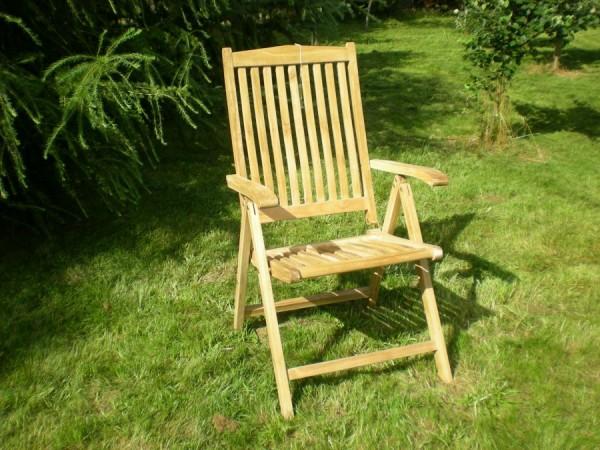 Krzesło Borneo 5 pozycji