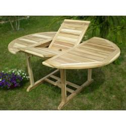 Meble ogrodowe teakowe - Stoły z teku - Stół Elegance B 120 - 170