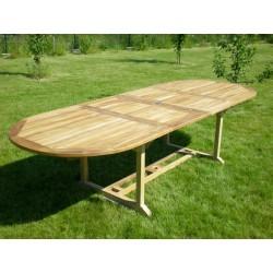 Meble ogrodowe teakowe - Stoły z teku - Stół Elite 200 - 300