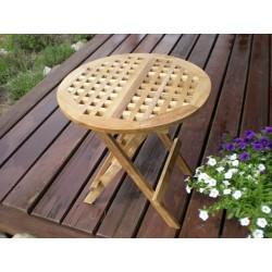 Meble ogrodowe teakowe - Stoły z teku - Ławka