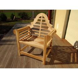 Meble ogrodowe teakowe - Krzesła z teku - Krzesło Marlborough/Lutyens