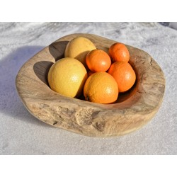 Meble ogrodowe teakowe - Akcesoria z teku - Misa teakowa 40 cm