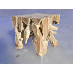 Meble ogrodowe teakowe - Stoły z teku - Stolik Root