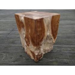 Meble ogrodowe teakowe - Główna z teku - Root Stool 30 X 30 X 40 cm